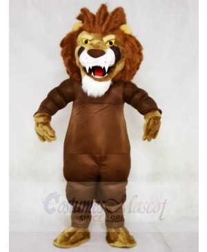 Power Muscle Lion Mascot Costumes Animal