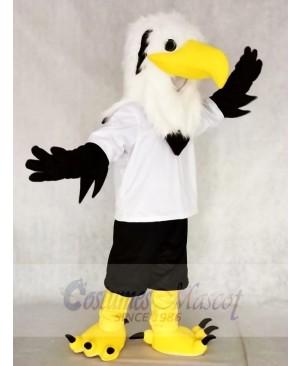 White Head Falcon Eagle Mascot Costumes Animal