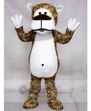 Chubby Leopard Bear Mascot Costumes Animal