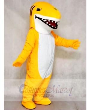 Custom Color Yellow Shark Mascot Costumes Animal Sea
