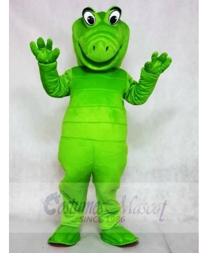 White Eyes Albert Alligator Mascot Costumes Animal
