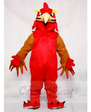 Red Phoenix Mascot Costumes Animal