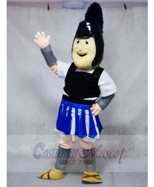 Royal Blue Troy Trojan Mascot Costumes People