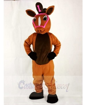 Leisure Horse Mascot Costumes Animal