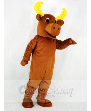 Bull Moose Mascot Costumes Animal