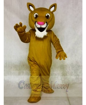 Mountain Lion Mascot Costumes Animal
