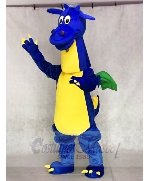 Blue Dragon Mascot Costumes Animal