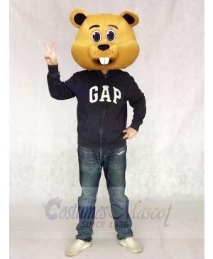 Albert Beaver Mascot Head ONLY Animal