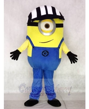 Despicable Me Minions One Eye with Hat Mascot Costumes Cartoon