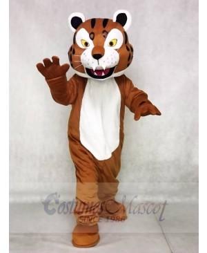 Brown Bobcat Mascot Costumes Animal