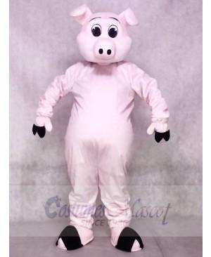 Cute Porker Pig Piglet Hog Mascot Costumes Animal