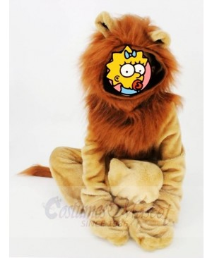 For Children/ Kids Lion Pajamas Pyjama Mascot Party Halloween Christmas Xmas Costumes