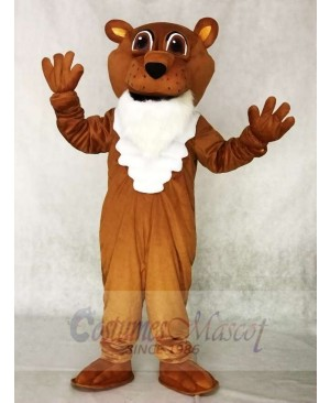 Corby Power Cat Cougar Mascot Costumes Animal