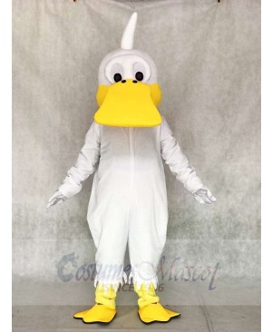 White Duck Mascot Costumes Poultry Animal