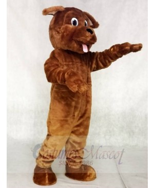 Lovely Brown Dog Mascot Costumes Animal