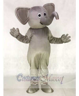 Grey Elephant Gray Elephant Mascot Costumes