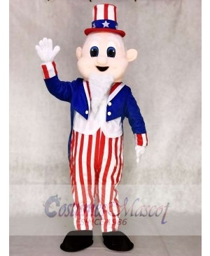 Uncle Sam Mascot Adult Costumes