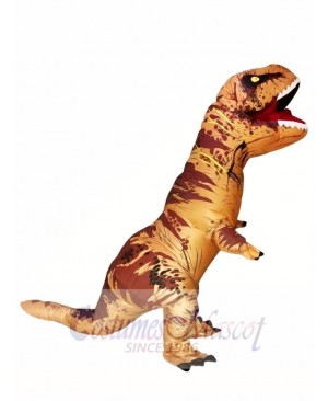 Adult Inflatable T-Rex Tyrannosaurus Costume Dinosaur Halloween Suit Cosplay Fantasy Costume