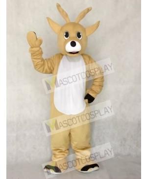 Cute Jolly Reindeer Deer Mascot Costume