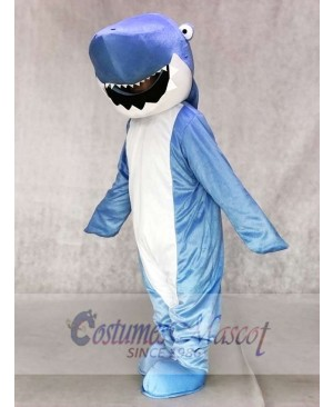 Blue Shark Mascot Adult Costumes Ocean