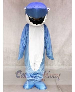Blue Shark Mascot Adult Costumes Ocean