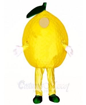 Yellow Lemon Mascot Costumes Plant