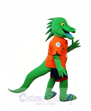 Green Lizard Mascot Costume Iguana Mascot Costume Animal