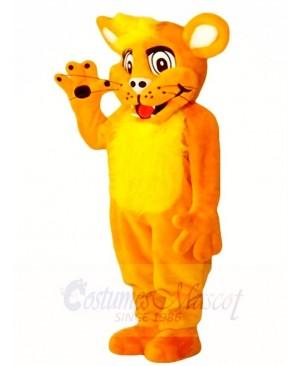 Orange Lion Cub Mascot Costumes Animal