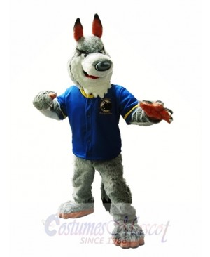 Grey Wolf Mascot Costume Gray Wolf Mascot Costumes Animal