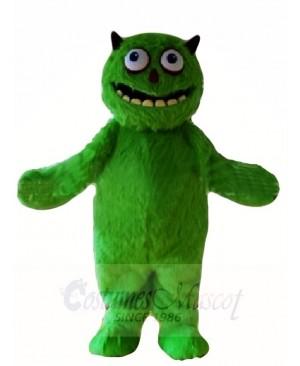 Green Hairy Alien Monster Mascot Costumes