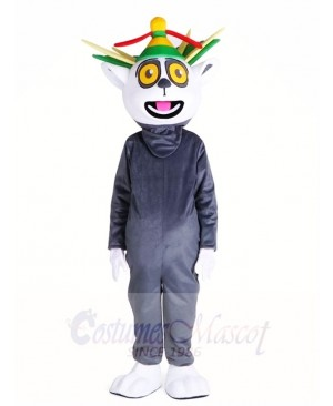 Madagascar King Julian Lemuroid Lemuridae Monkey Mascot Costumes Animal