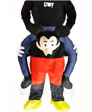Piggy Back Mickey Mouse Carry Me Ride on Mascot Costumes Halloween