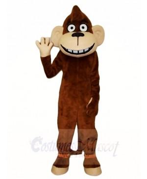 Brown Monkey Mascot Costumes Animal