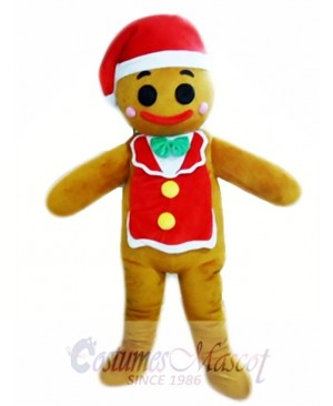 Gingerbread Man Christmas Mascot Costumes
