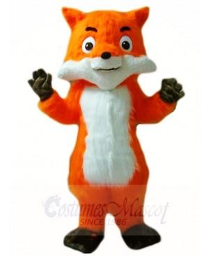 Orange Fox Mascot Costumes Animal