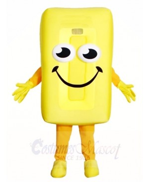 Yellow Candy Mascot Costumes Dessert