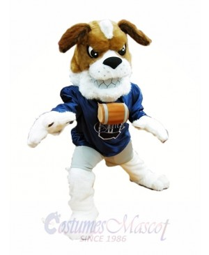 St. Bernard Dog Mascot Costume Brown Dog Mascot Costumes