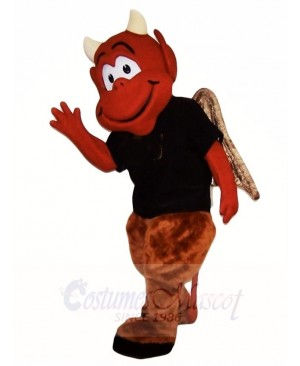 Brown Devil Mascot Costumes Monster