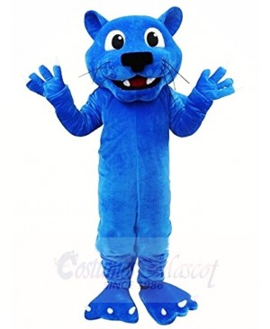 Blue Leopard Mascot Costumes Animal