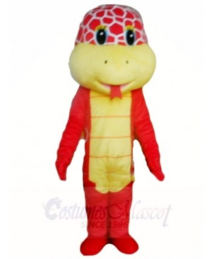 Red Cobra Snake Mascot Costumes Animal