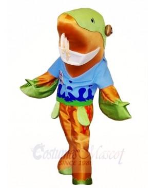 Fish and Fins Sammy the Sturgeon Mascot Costumes Sea
