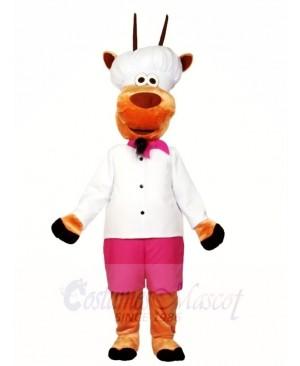 Cartoon Cook Sheep Mascot Costumes Animal