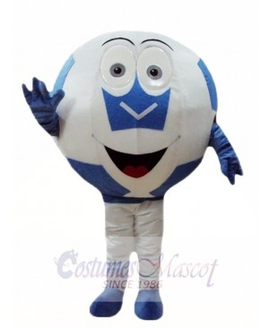Blue Ball Football Mascot Costumes