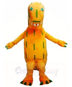 Orange T-Rex Dinosaur Mascot Costumes