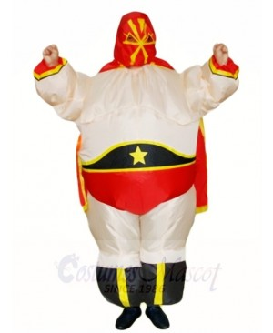 Wrestling Wrestler Inflatable Halloween Xmas Costumes for Adults