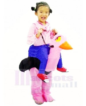Ride On Ostrich Inflatable Halloween Christmas Xmas Costumes for Kids