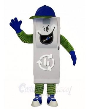 Trash Can Ash Bin Garbage Can Mascot Costumes