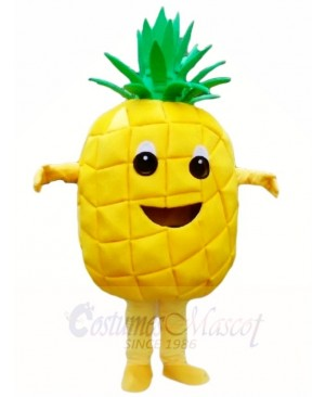 Pineapple Mascot Costumes Tropical Fruit Food Plant