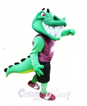 Crocodile Mascot Costume Green Alligator Mascot Costumes