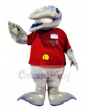 Whale Mascot Costumes Ocean